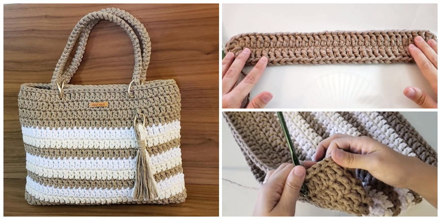 This Crochet Bag With String Thread is one of the best work on my blog
