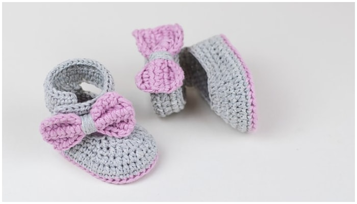 Crochet baby booties are among the most popular handcrafted projects. They are cute and beautiful. Well there are 16 Free booties to choose-5