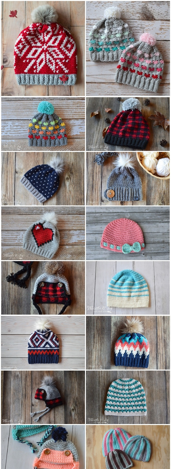 df4a5df8bf0 16 super cute and trendy Free Crochet Hat Patterns to keep you warm and  cozy all