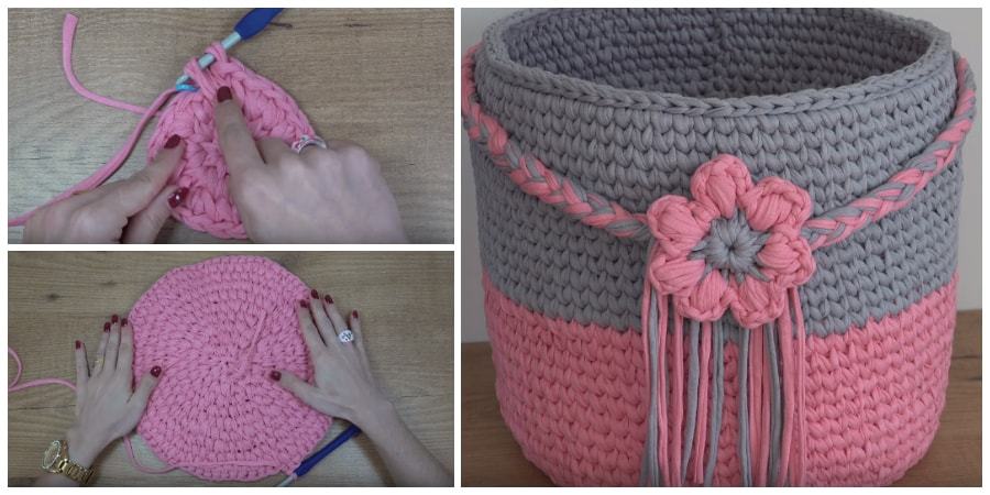 This video will show you how to crochet basket. In this tutorial owner of this project is trying best to make it clear and easy for you to understand.