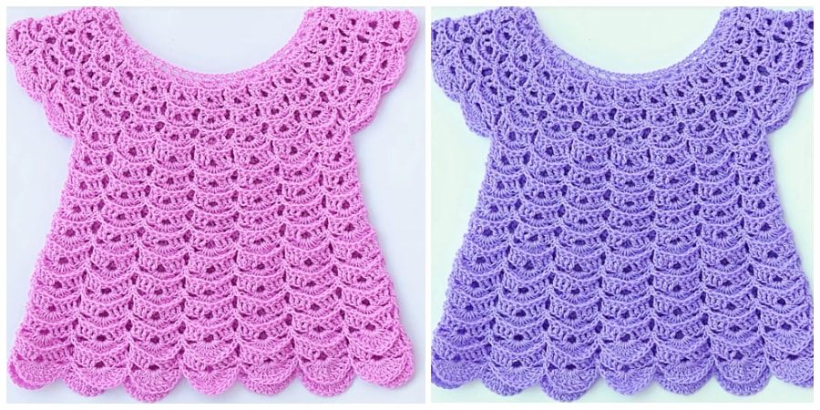 Here is Instructions how to Crochet Blouse For Girls. IF you have time and if you are experienced crocheter dress your child up with elegant blouses & shirts for girls