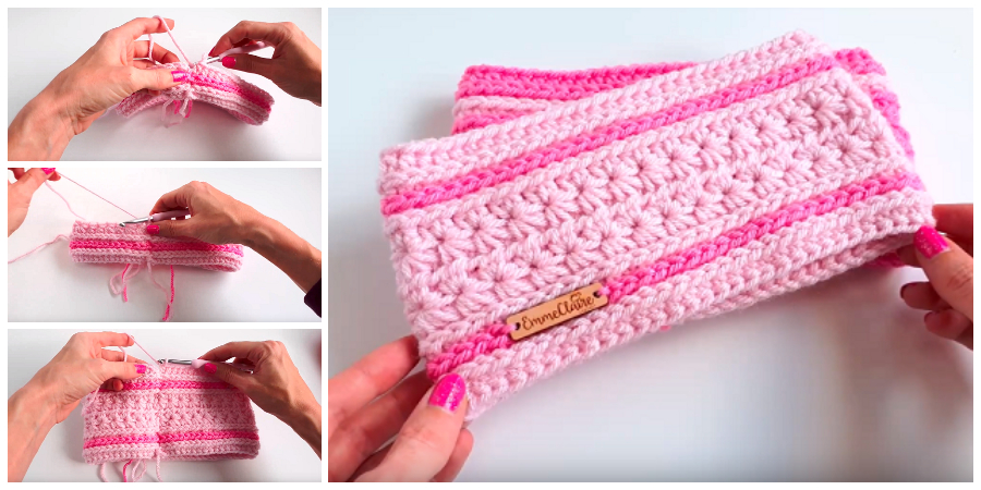 Thanks for checking out this tutorial for the Crochet Starlight Headband! This video will work through the pattern for the 0-3 month headband, with all sizes available.