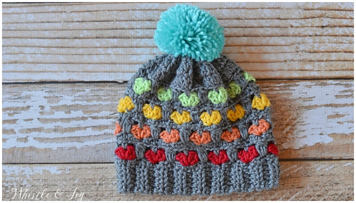 16 super cute and trendy Free Crochet Hat Patterns to keep you warm and cozy all season long. Crocheting hats is a great way to practice your stitches with speedy results.