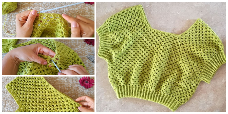 how to make a simple Knitting Blouse for Ladies in a easy way. For more details visit our website.