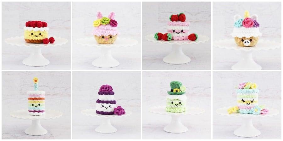 9 Free Crochet Cupcake And Cake Patterns Crochet Kingdom