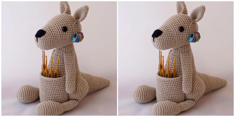 Crochet Kangaroo Amigurumi - Video Tutorial - Crochet Kingdom