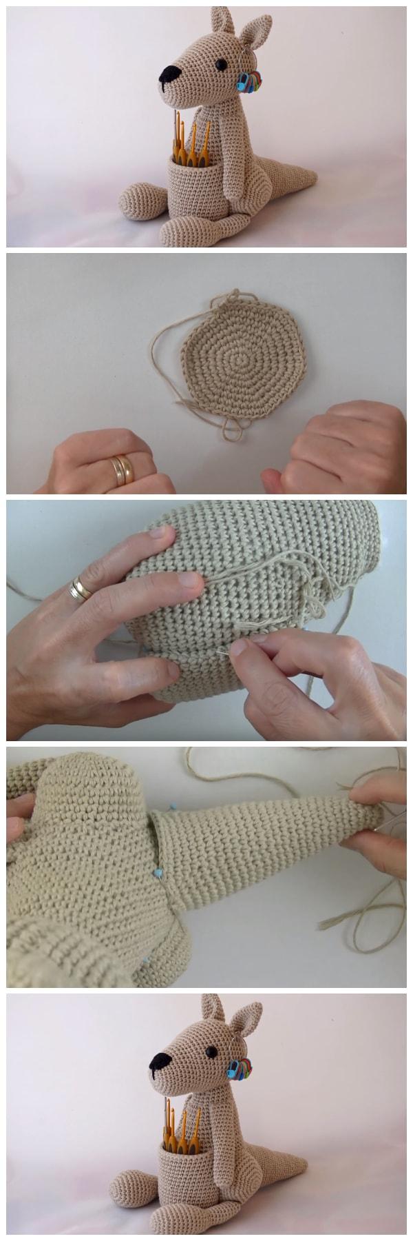 Kangaroo Amigurumi Pattern ⋆ Crochet Kingdom | 1800x600