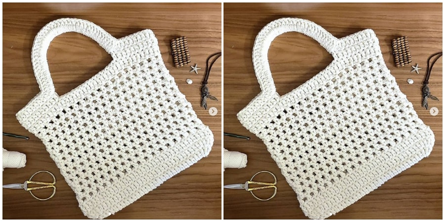 In this video lesson I show you the step by step how to make this beautiful Crochet String Bag for you to raze in the summer. The bag ready and the size of it you can see at the end of the video. Hope you like it.