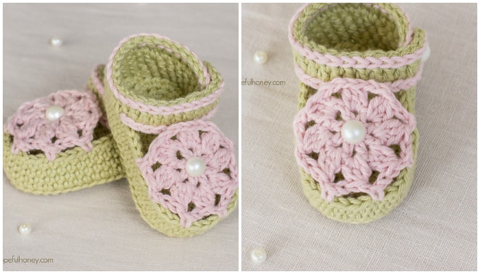 25 Adorable Free Crochet Baby Booties Crochet Kingdom