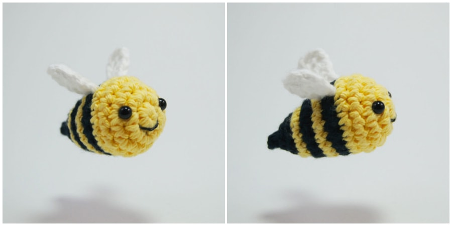 Learn how to make crochet bee amigurumi! This easy crochet bee tutorial teaches you how to crochet a bee with a video or written! It even includes a free PDF. Enjoy, guys !