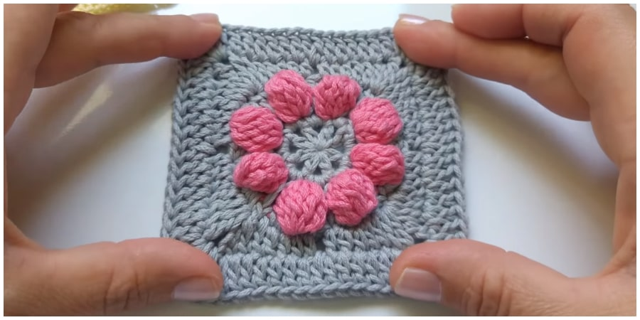This is one of the best Crochet Flower Granny Square which can be used in all the same ways that a granny square would be used, such as in blankets, pillows, clothing, accessories, or other projects. Enjoy !