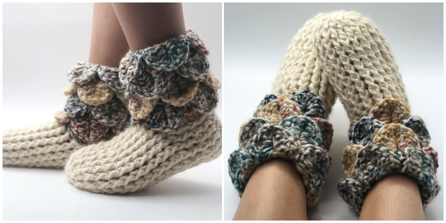 Get ready to make a pair of these cute Crochet Slipper Boots for every member of the family - plus a few for guests. Everything you need to make your new project is included in this kit! Time to get stitching, and don't forget to share your progress!