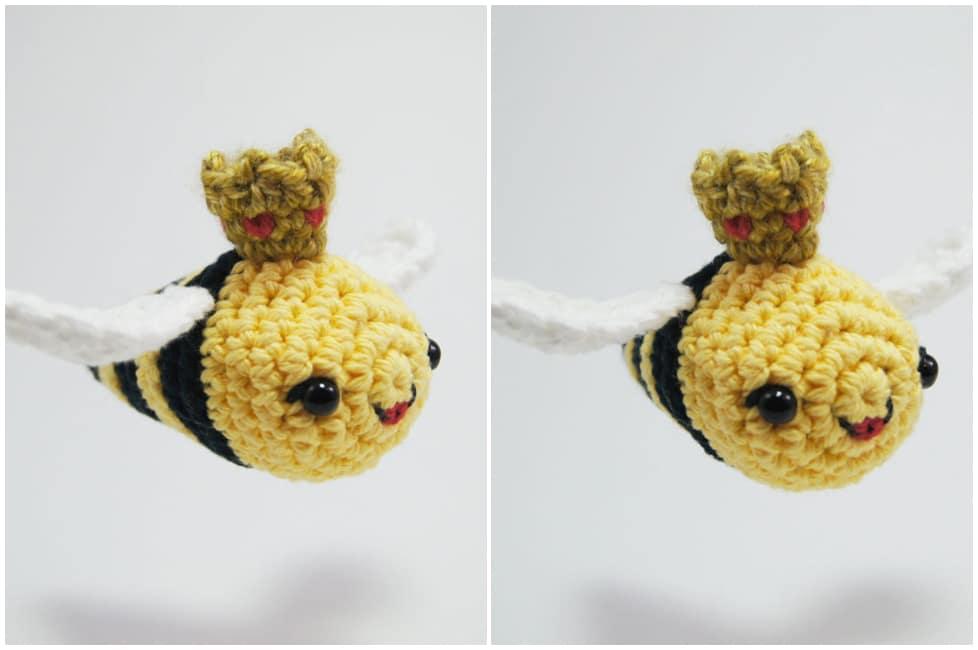 Ape Amigurumi (tutorial)/how to make a bee amigurumi - YouTube ... | 650x978