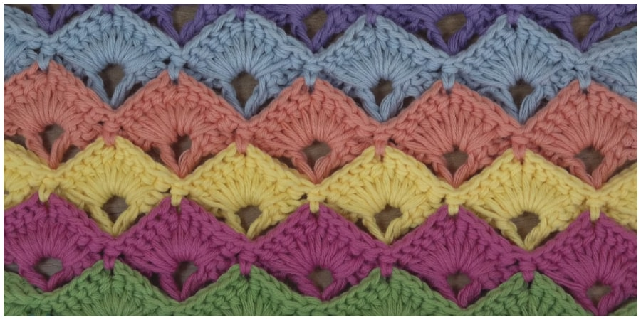Today I will show you one of the best and beautiful Simply Crochet Stitch for beginners.  Many of these stitches are based on super simple concepts, like single or double crochet. Enjoy !
