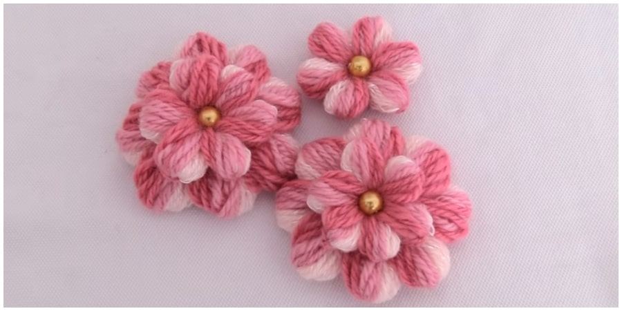 This is a one of the best Flower Embroidery Simple trick for everyone ! The embroiderd flowers can be placed around the neckline or on the sleeves. It's one of the best trick guys... Don't miss !