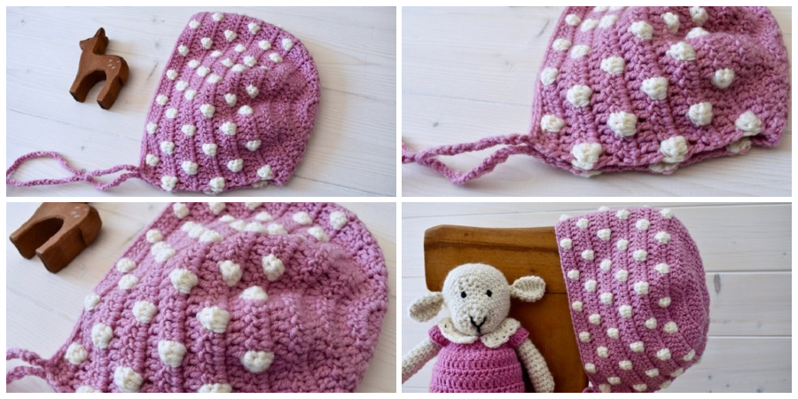 This tutorial will show you how to Crochet Bobble Stitch Hat. This tutorial is suitable for beginners.