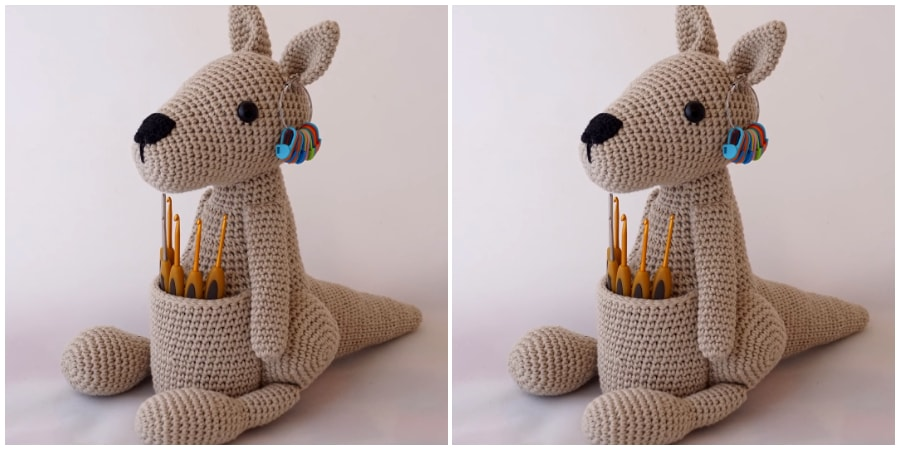 IF you are looking how to Crochet Kangaroo Amigurumi, we can one of the long and interesting video tutorial for you girls. I think it's one of the best tutorial on youtube.