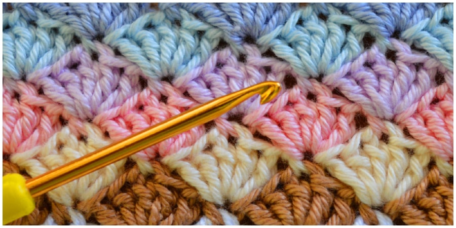 Learn how to crochet shell stitch. The shell stitch is a fairly simple stitch that creates an intricate shell pattern. You can work it in rows, in the round, or as a blanket edging. Enjoy, guys !