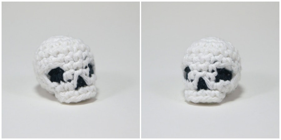This easy crocheted skull tutorial teaches you how to crochet a skull with a video or written PDF pattern. You will love this Amigurumi Crochet Skull. Enjoy, guys !