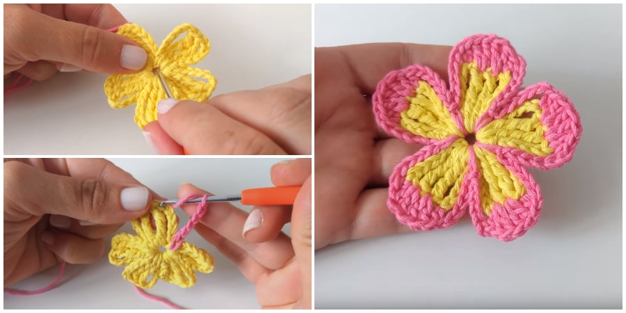 When you need a quick and simple embellishment for a hat or bag, this easy crochet flower pattern is perfect. The cutest craft projects come in miniature, and this small flower is so much fun to crochet. Enjoy, guys !