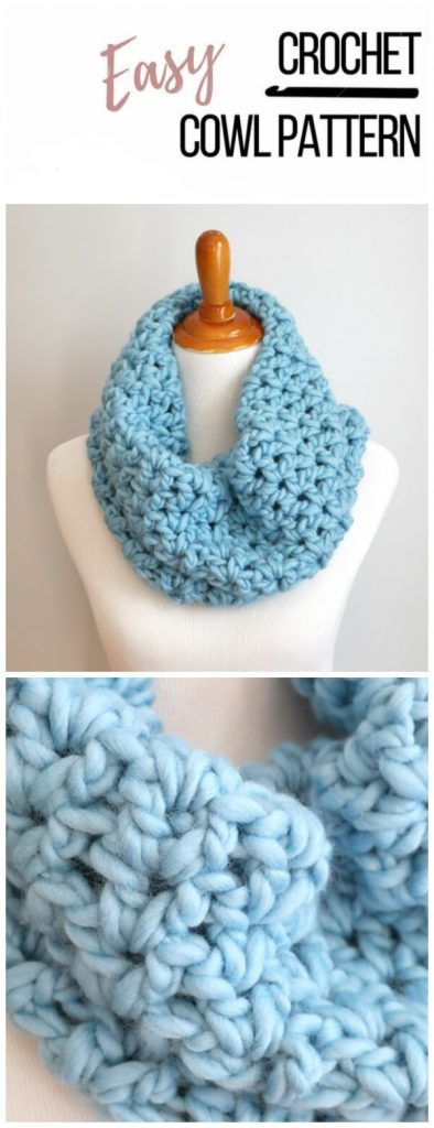 This is one of the best Cozy One Hour Cowl patter + tutorial. Everything you need to make your new project is included in this kit! Time to get stitching, and don't forget to share your progress!
