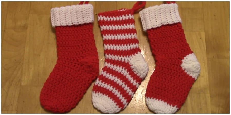 Crochet Christmas Stocking.Crochet Christmas Stocking Pattern And Tutorial Crochet