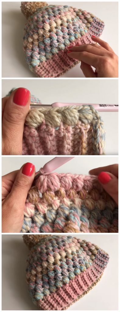 I am going to show u how to crochet this super easy Puff Stitch Hat. Its really easy and fun to make. It's great for beginners. Have a great time crocheting. Enjoy !