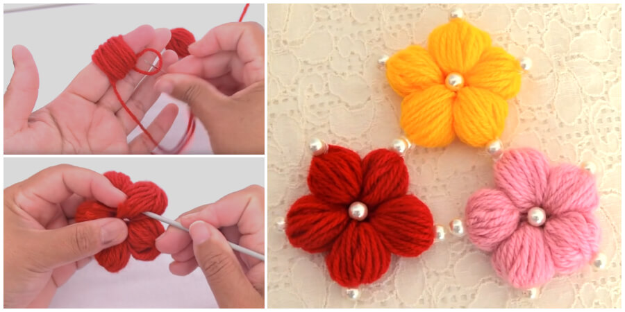 Whether you want to stitch some flowers because they are popular now or because you've always loved them. It's one of the best Hand Embroidery Flower trick. Enjoy !