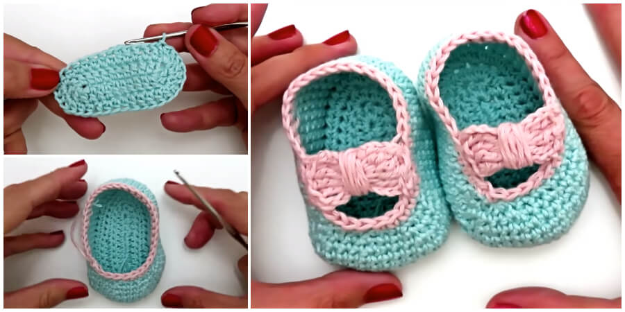 Here is tutorial for Crochet baby shoes. Many of us have a nostalgic pair of our own saved from childhood. They make perfect gifts for baby showers and can also be made for donations to charity.