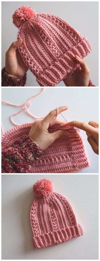 Today I am going to show you how to crochet this romantic beanie. Its a very easy pattern. I usually don't really care for them but this one I really like, I hope you like it. Have a wonderful Day !