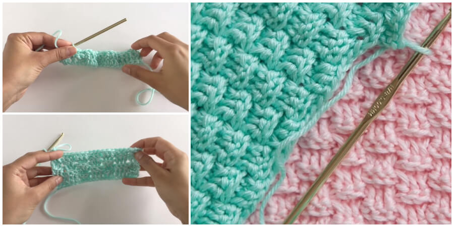 This video tutorial will show you how to crochet the posted brick stitch. This stitch involves alternating front and back post double crochet to create a fun brick like texture. If you done this project, please add image to comment and we will choose best one !