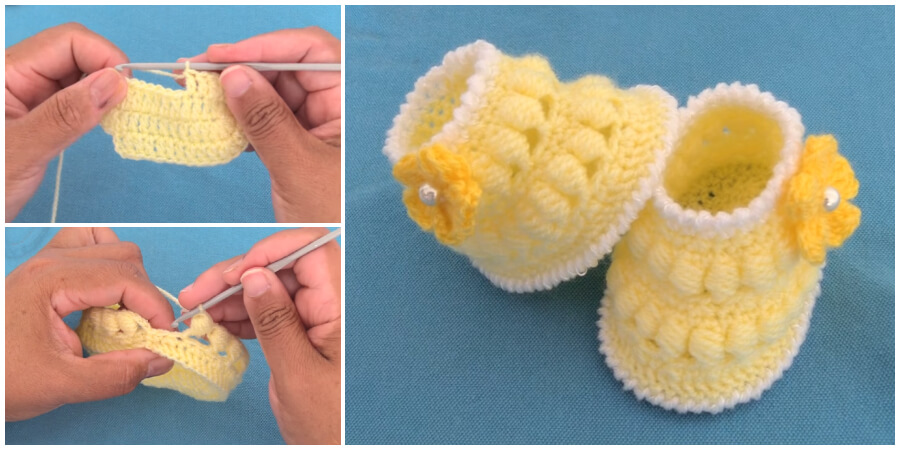 Fast and easy crochet pattern for baby booties should look no further than this simple free design. This is one of the most adorable and very easy crochet baby booties video tutorial. Enjoy !
