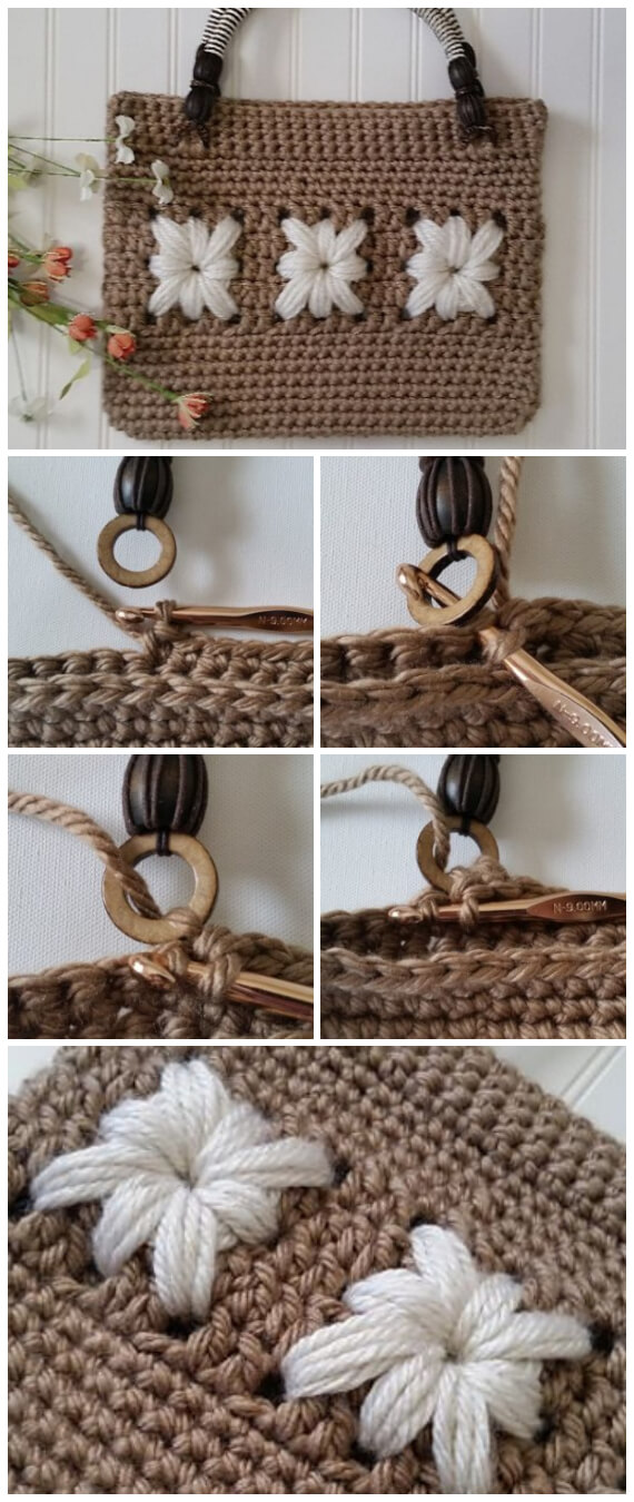 I love making crochet bags, they are fully customizable, fun to crochet, and are perfect for gifts! And, this is one of the most elegant Crochet Daisy Lane Handbag...