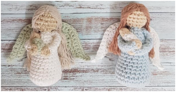 Crochet Angel Pattern - Repeat Crafter Me   314x600