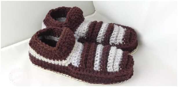 This Crochet Warm Slippers will keep your toes comfy, and cozy. However, these slippers are comfy enough to wear around the house all day long.