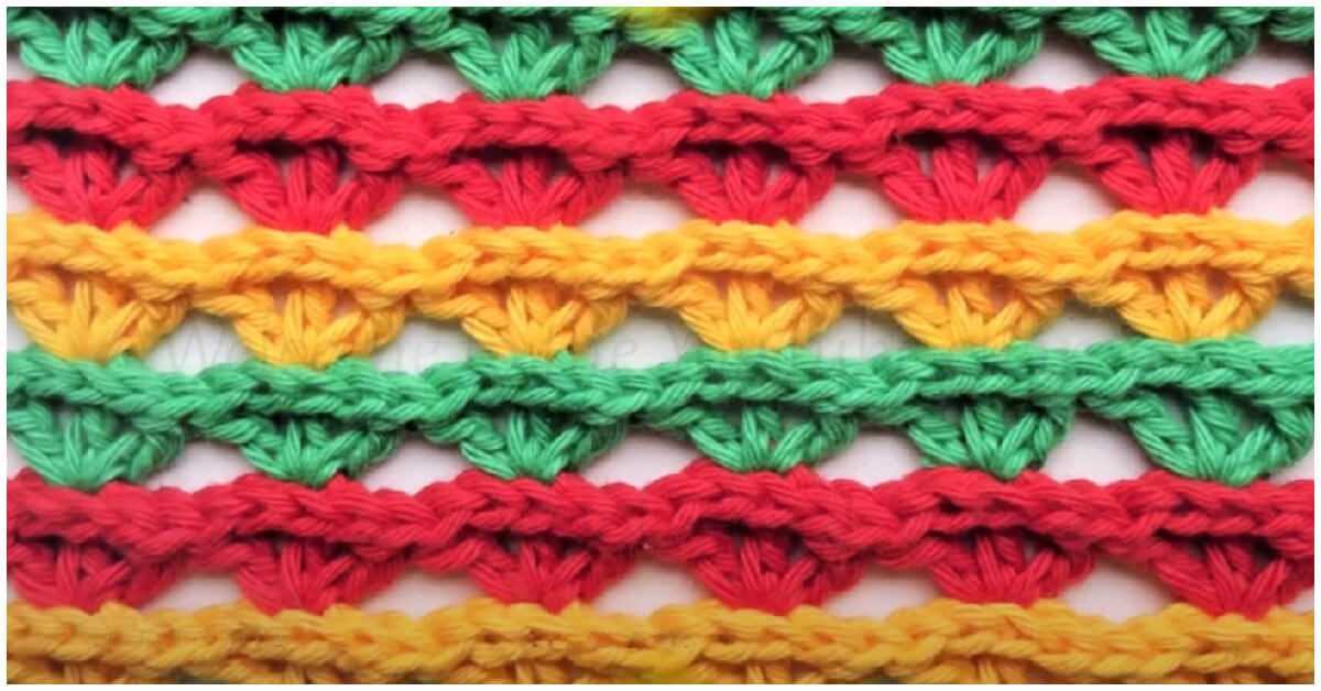 Here's a really nice and Crochet Shell Stitch Pattern and Tutorial. This pretty stitch is simple to learn and great for many different types of crochet projects!