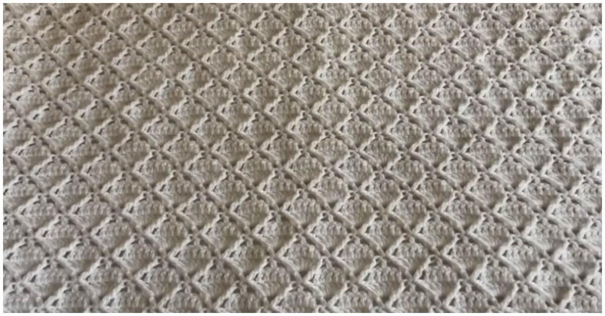 Easy Crochet Square Blanket Tutorial Crochet Kingdom