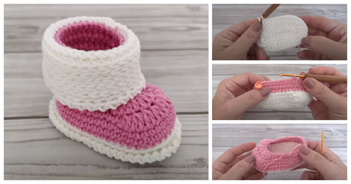Learn to Crochet - How to make your own Crochet Baby Booties ?  Here are the most adorable 26 Simple Free Crochet Baby Booties For Beginners.