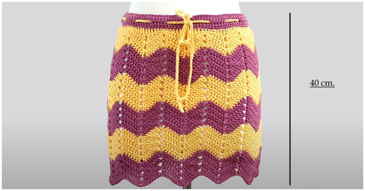 You would look super classy and elegant while wearing this Best Crochet Skirt. So the summers are here and if you still have not tried crocheting a few lovely crochet skirts for you