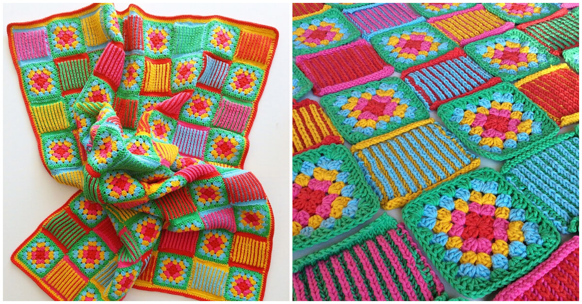 Once you master the basic granny square crochet method, you can expand upon the design to make various useful projects. From blankets and apparel to accessories like bags and placemats.