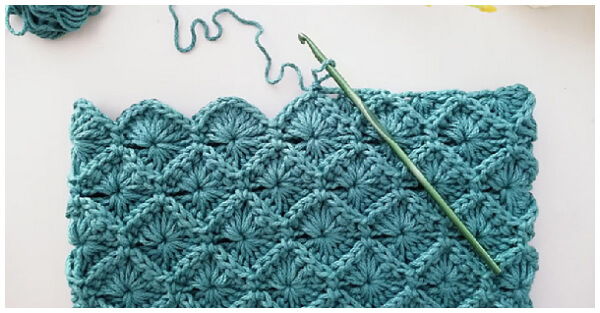 Learn to Crochet - It's time to learn a new stitch! I am so excited to show you How to Crochet Bavarian Stitch because it looks complicated but it really isn't.