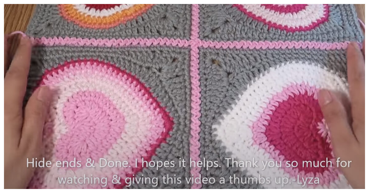 How to Crochet - There are so many methods for Joining Squares Idea in Crochet.  This one is my favourite, though, both for how it looks and for how flat the resulting seams are.