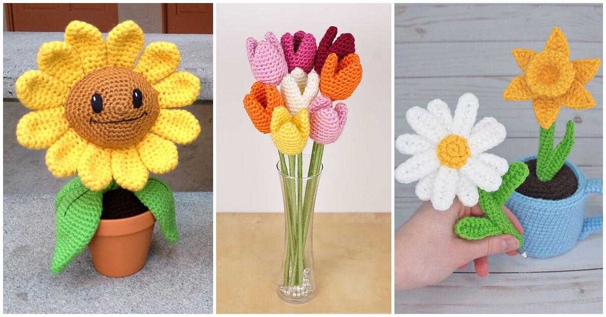 CROCHET PATTERN - Hyacinth bulb - spring flower amigurumi ... | 628x1200