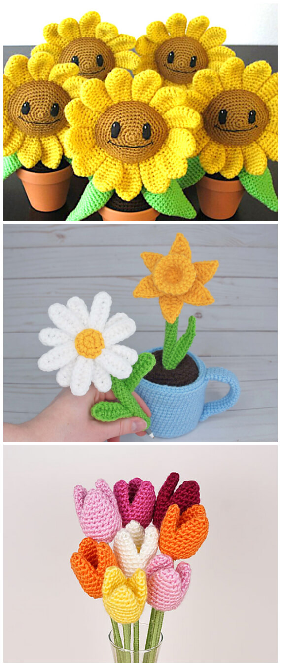 Crochet Keychain - 15 Free Crochet Patterns ⋆ DIY Crafts | 1350x570