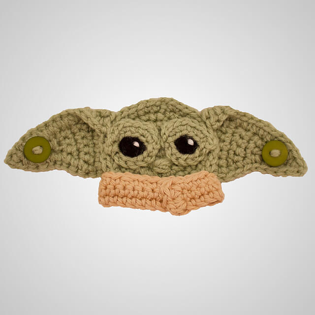 There Crochet Mask Ear Saver Patterns are quite simple!  Ear savers are about the easiest things to crochet.
