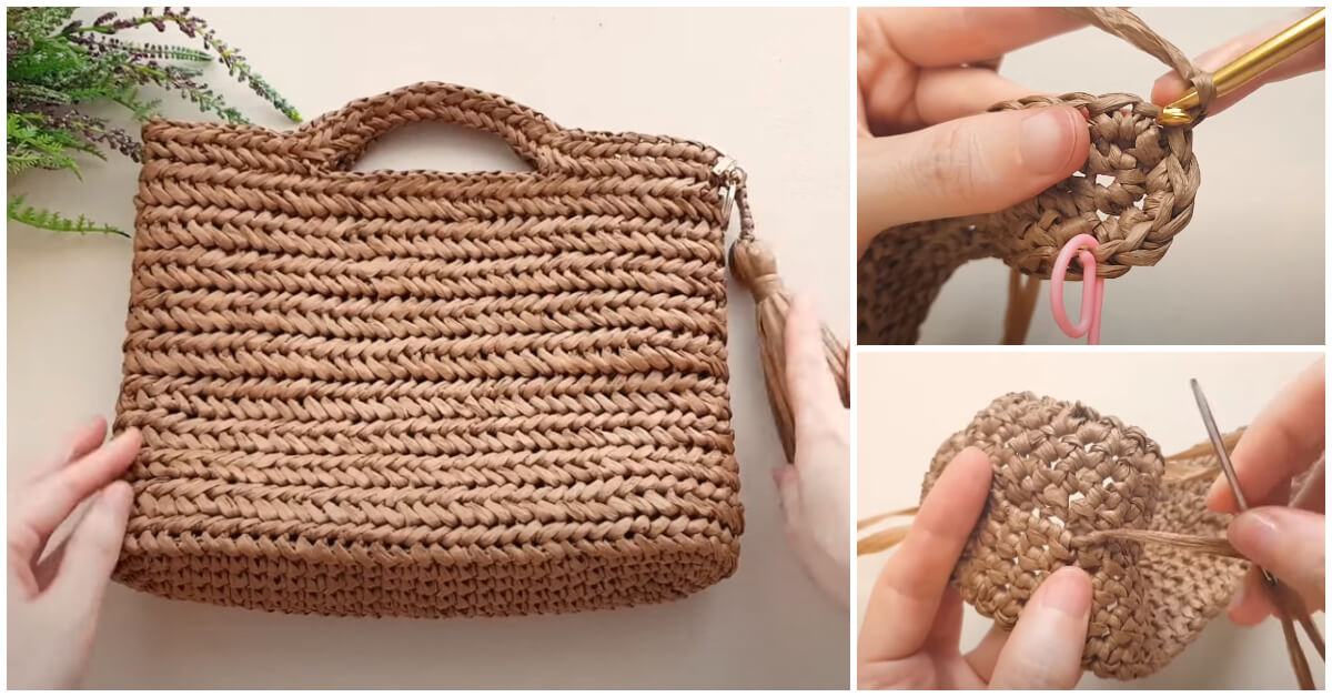 How to Crochet - Crochet Herringbone Stitch is as easy as a double crochet; you're just pulling through the loops differently.